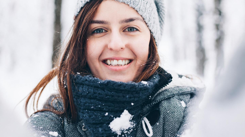 Hautpflege im Winter ist bei frostigen Temperaturen nötig.